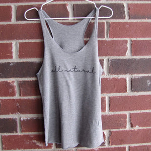 All Natural Tank Top (Grey)