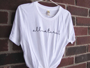 All Natural T-Shirt (White)
