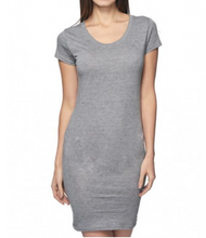 Load image into Gallery viewer, Grey Bamboo Dress
