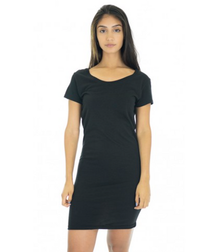 Black Bamboo Dress