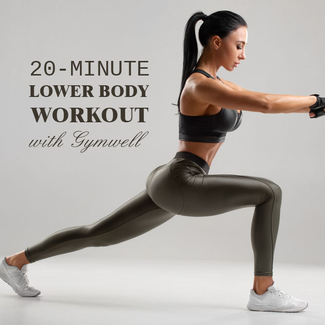 GYMWELL 4-CIRCUIT LOWER BODY WORKOUT (Glutes & Thighs)