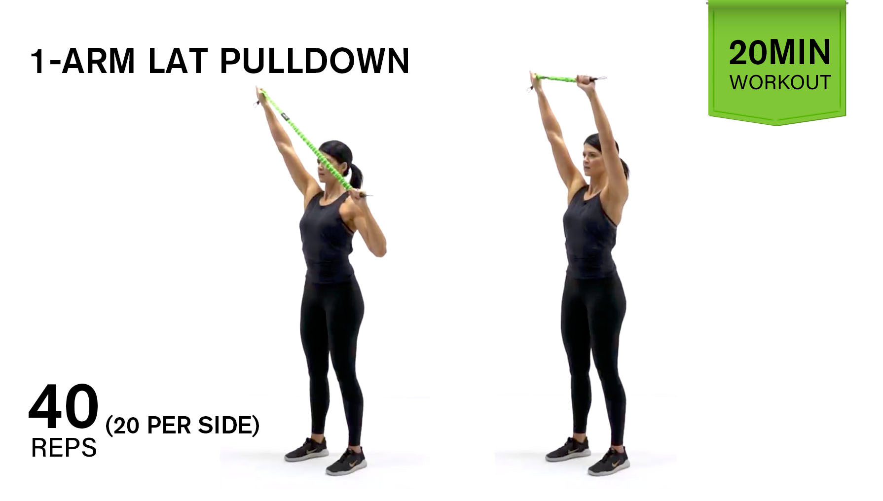 Gymwell 1-arm pulldown
