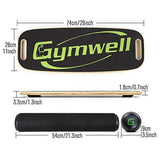 Gymwell Balance Board Trainer with Handle Sports & Outdoors GYMWELL