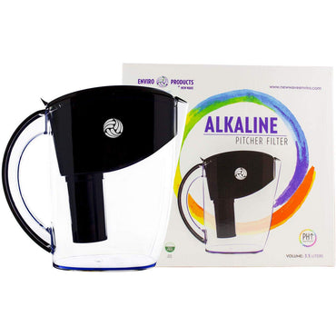 New Wave Enviro Alkaline Water Filter Pitcher