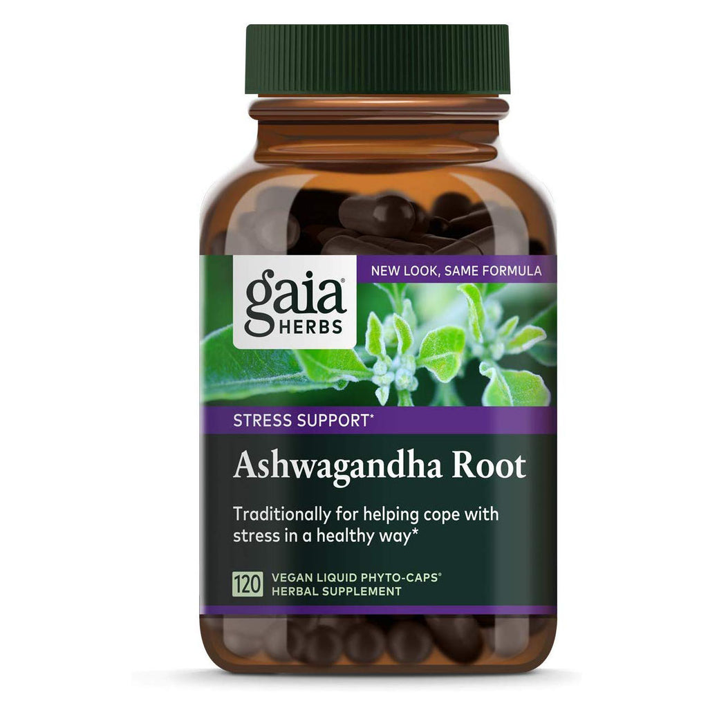 Gaia Herbs Ashwagandha Root, For Stress Relief