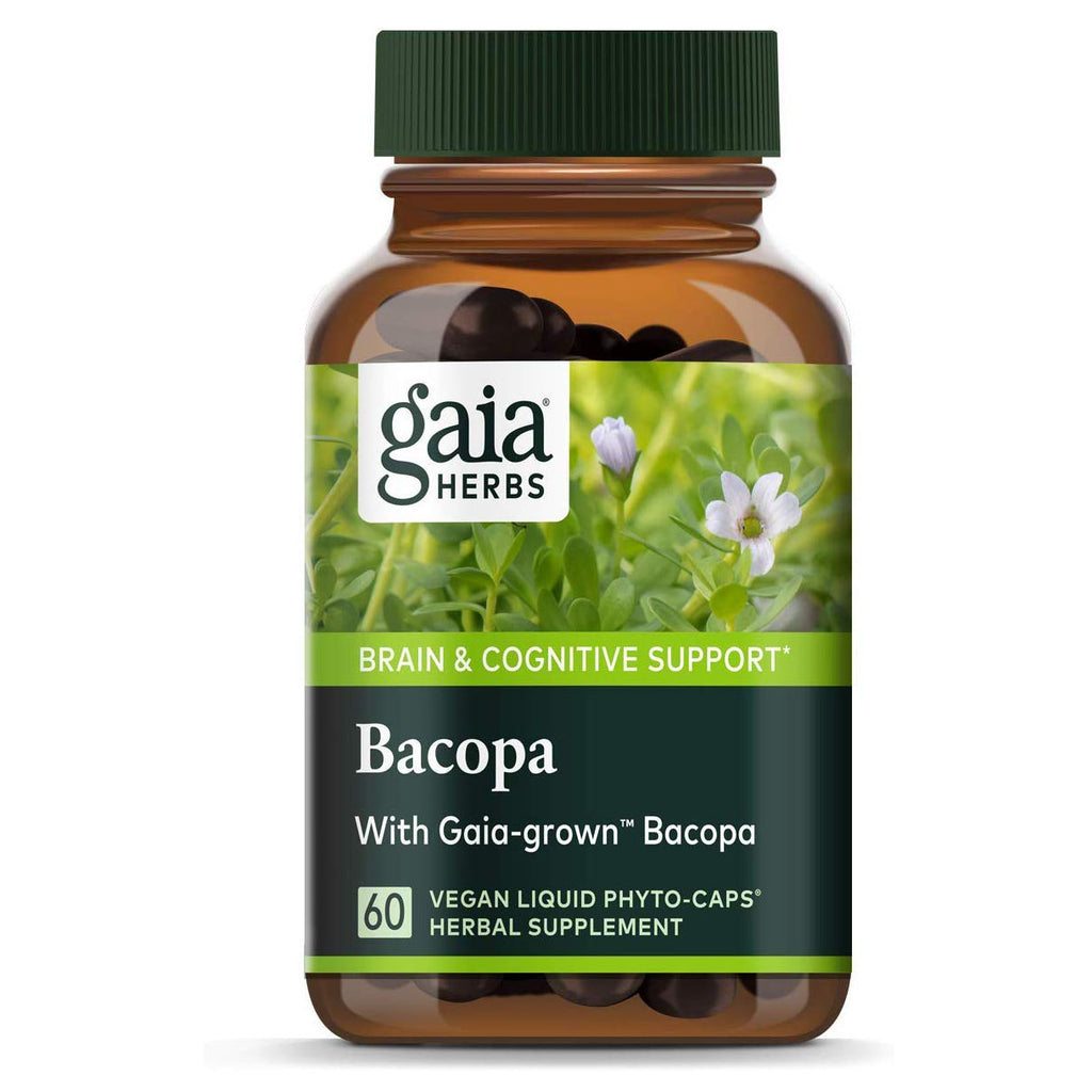 Gaia Herbs, Bacopa, Brain and Cognitive Support