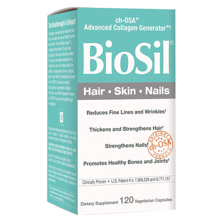 BioSil - Healthy Growth & Strength for Hair, Skin & Nails - Vegan Collagen