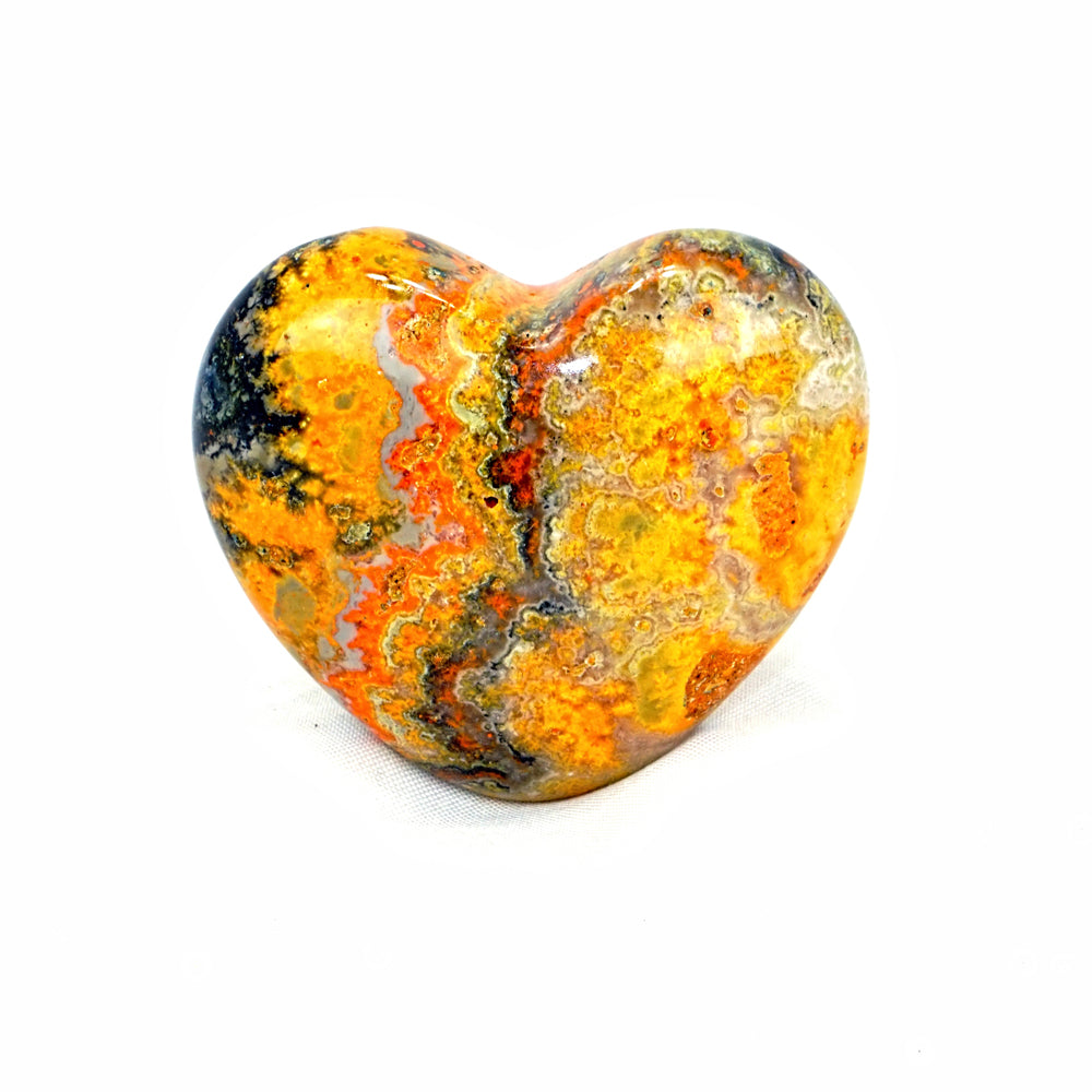Bumble Bee Jasper Heart