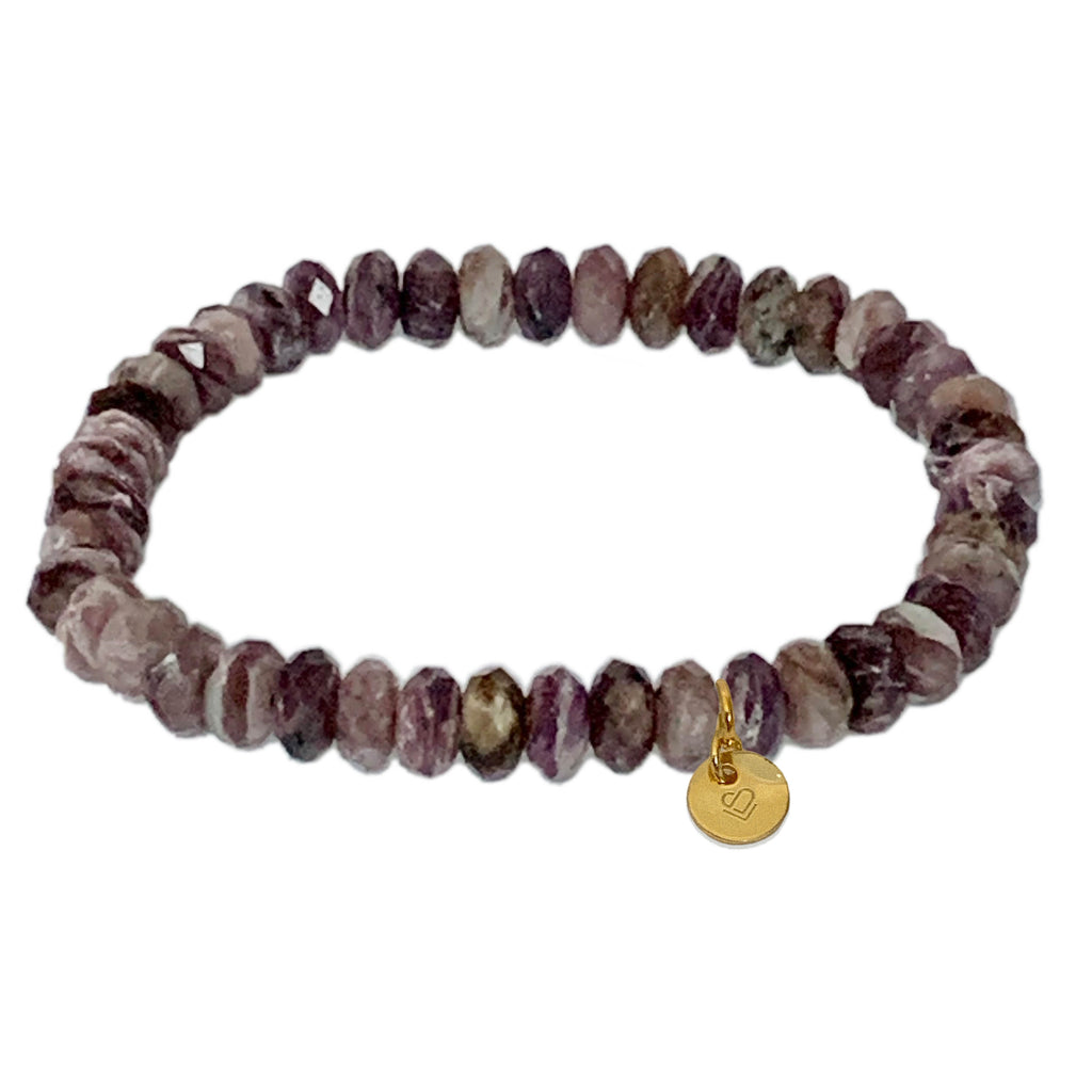 Charoite Faceted Bracelet