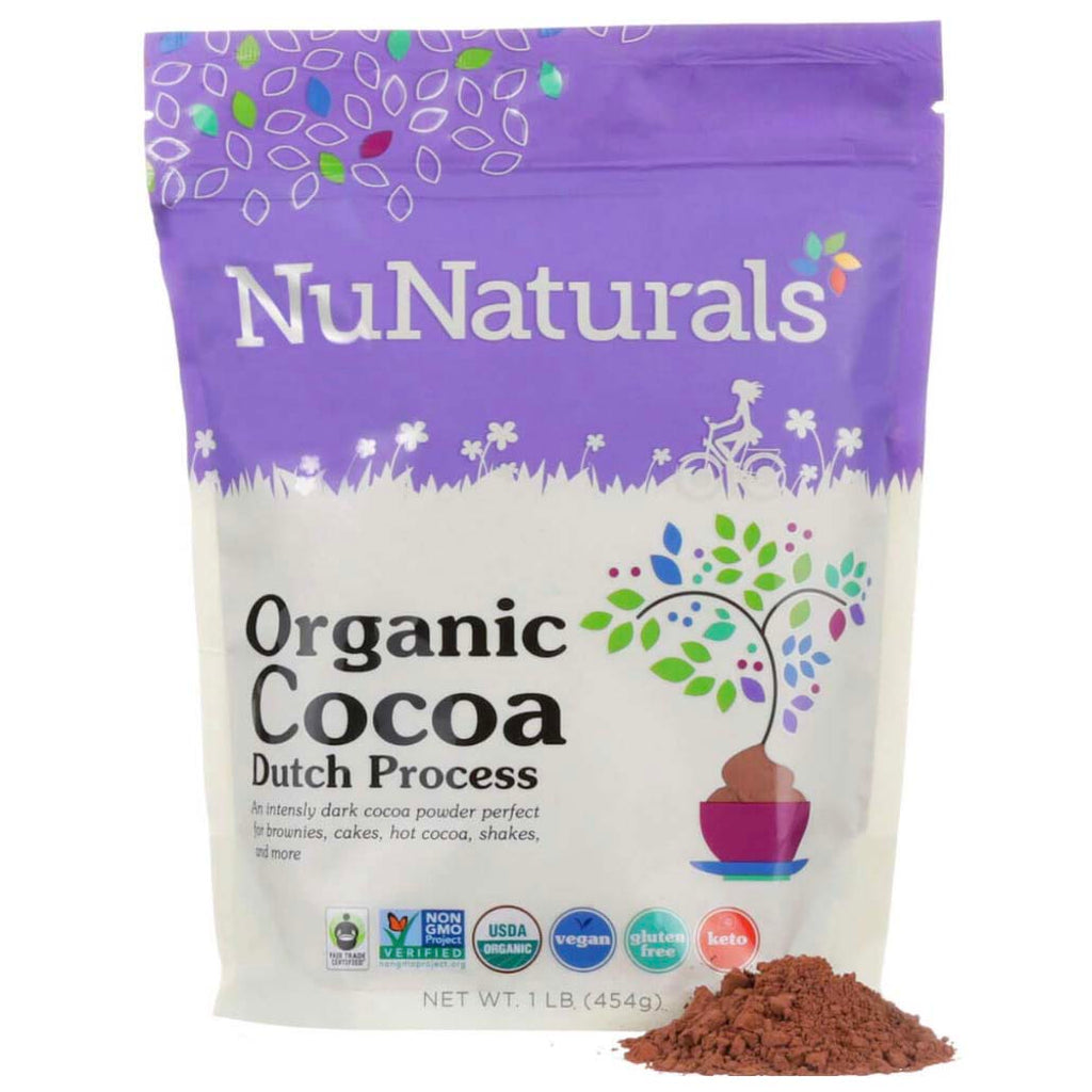 NuNaturals Organic Dutch Cocoa Powder