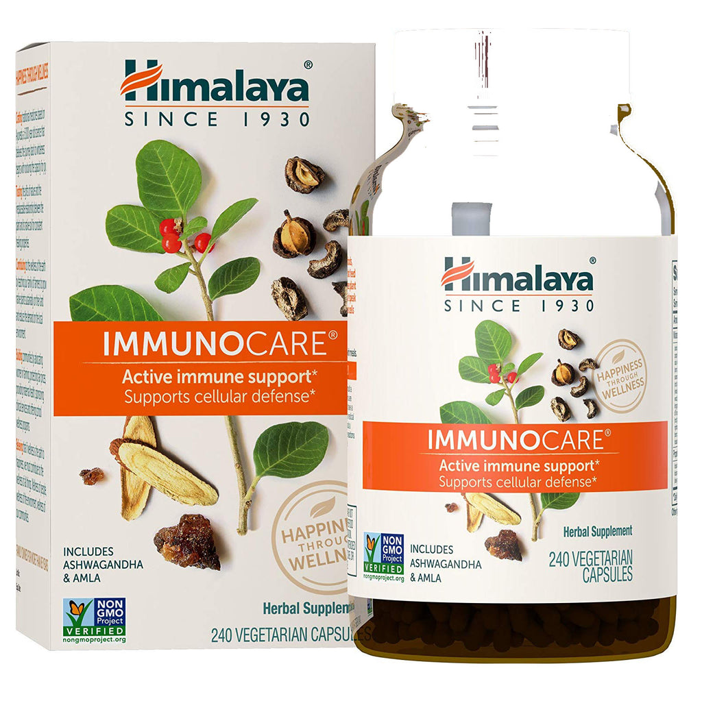 Himalaya ImmunoCare with Amla and Ginger for Active Immune Support
