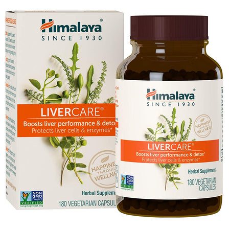 Himalaya LiverCare/Liv. 52 for Liver Cleanse and Liver Detox