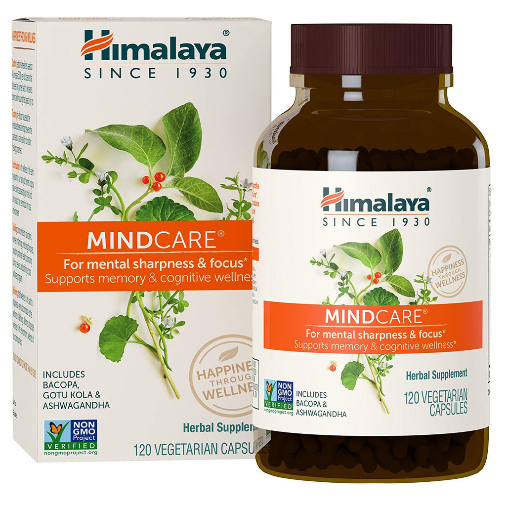 Himalaya MindCare/Mentat with Bacopa and Gotu Kola