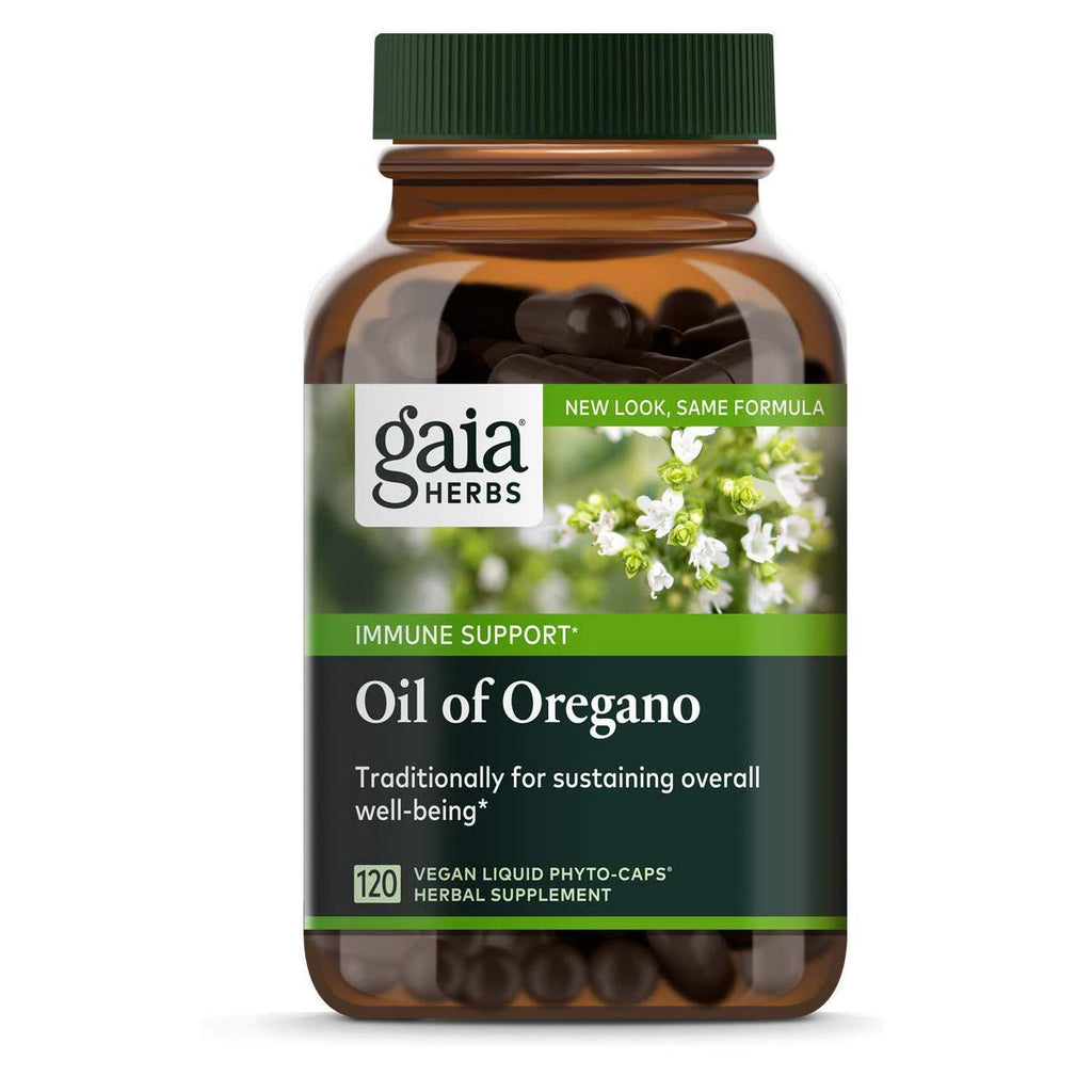 Gaia Herbs Oil of Oregano, Vegan Liquid Capsules