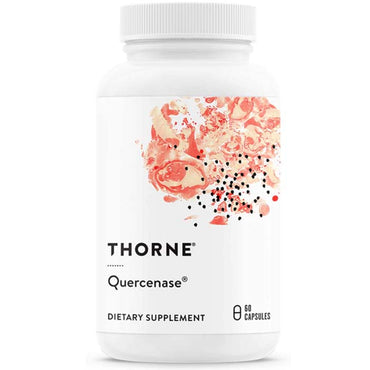Thorne Research - Quercenase - Quercetin Phytosome Supplement with Bromelain