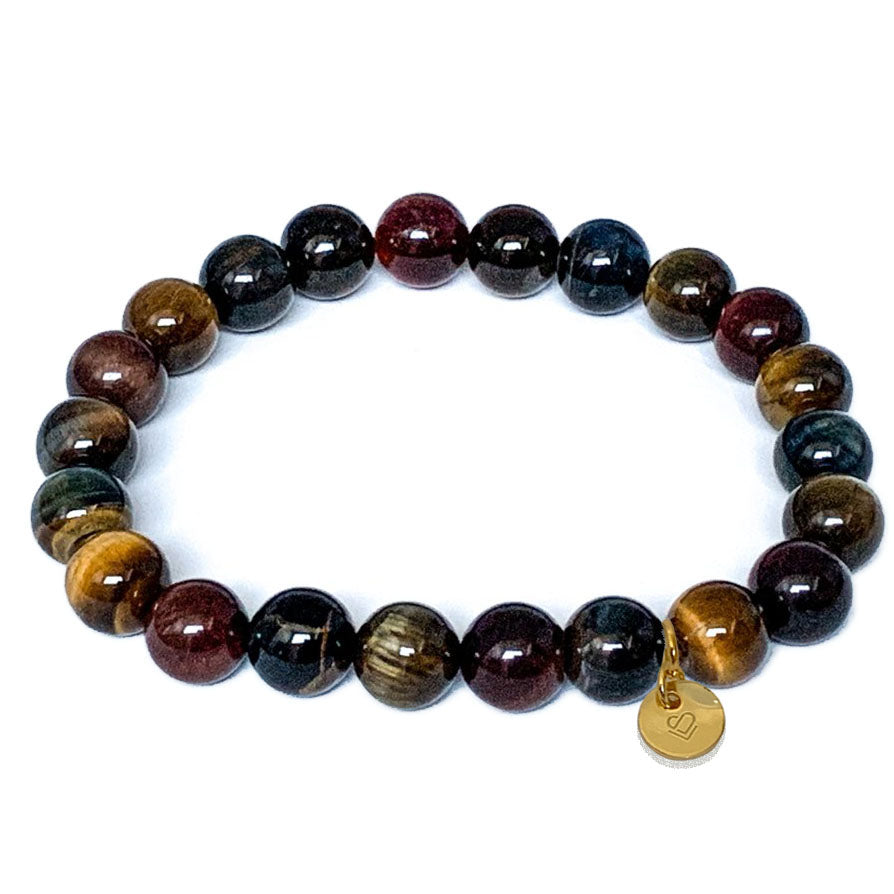 Rainbow Tiger Eye Bracelet