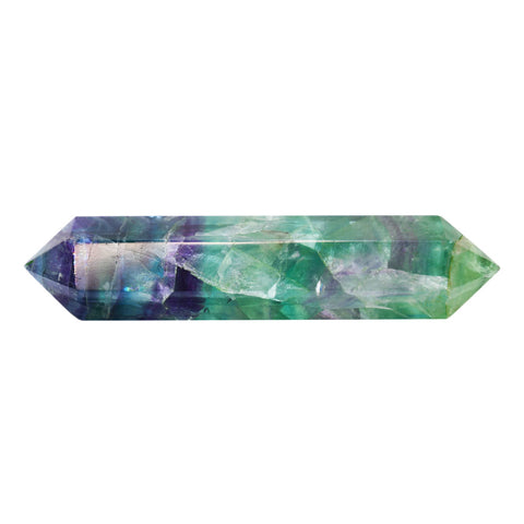 Rainbow Fluorite Double Point