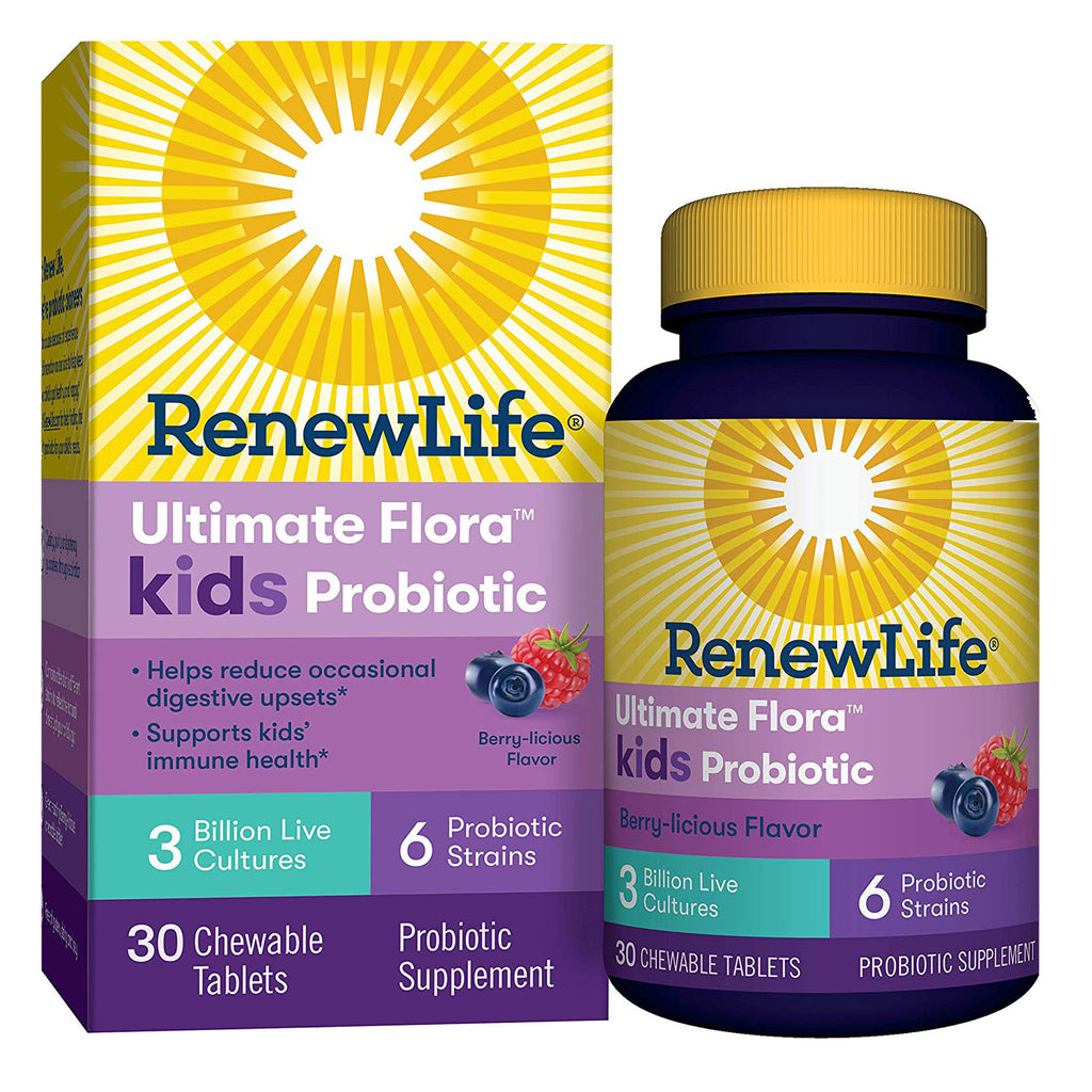 Renew Life Kids Probiotic - Ultimate Flora Kids Probiotic Supplement