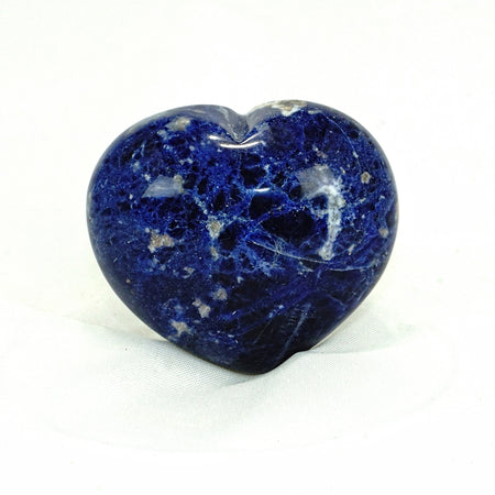 Sodalite Hearts - Small, Medium
