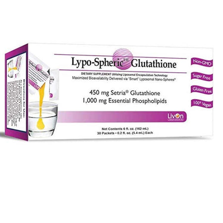 LivOn Laboratories Lypo-Spheric Glutathione 30 Packets