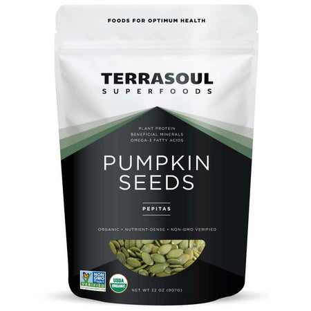 Terrasoul Superfoods Organic Raw Pumpkin Seeds