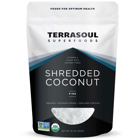 Terrasoul Superfoods Organic Shredded Coconut