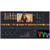 Blackmagic Design DaVinci Resolve's Colour Page; Hollywood's most advanced colour corrector with High Dynamic Range (HDR) and RAW image processing.