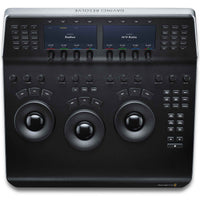 Blackmagic Design DaVinci Resolve Mini Panel with three high resolution track balls.