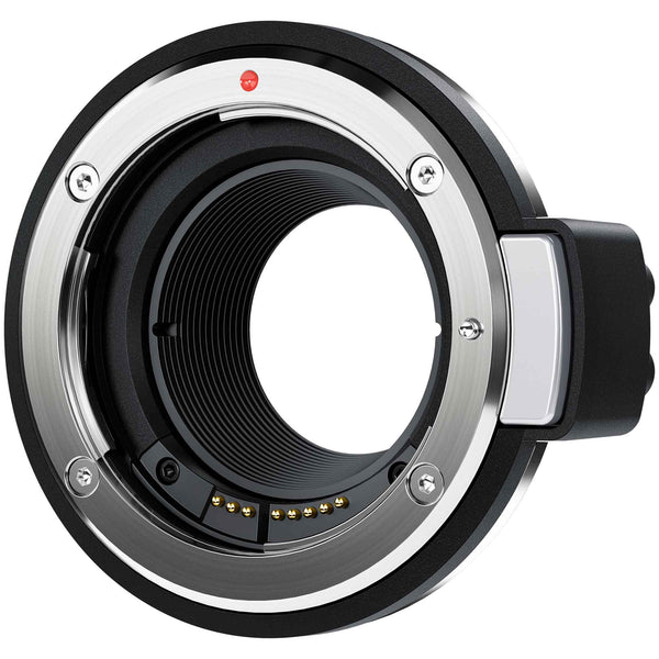 Blackmagic Design URSA Mini Pro EF Mount with electronic lens connection.