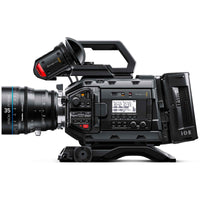 Blackmagic Design URSA Mini Pro with PL Mount and Schneider Xenon lens.
