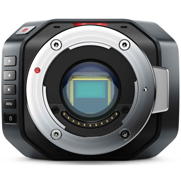 Blackmagic Design Micro Cinema Camera with Micro Four Thirds active lens mount and 4/3