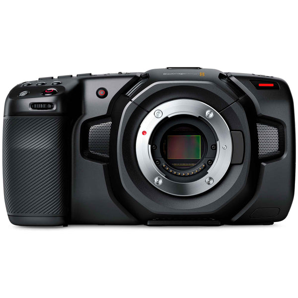 Blackmagic Design Pocket Cinema Camera 4K with Micro Four Thirds active lens mount and 4/3