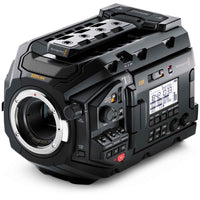 Blackmagic Design URSA Mini Pro 4.6K G2 with Canon EF lens mount.