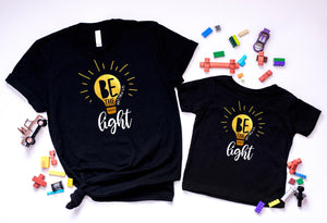 Be the light unisex tee