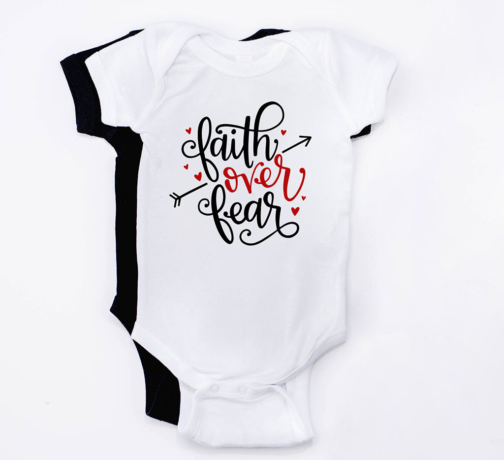 Faith over Fear bodysuit