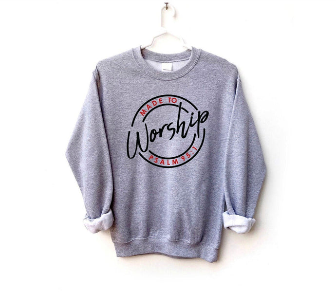 Made to worship sweater