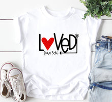 Load image into Gallery viewer, John 3:16 Bodysuit/tee