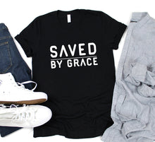 Load image into Gallery viewer, Saved by Grace T-shirt