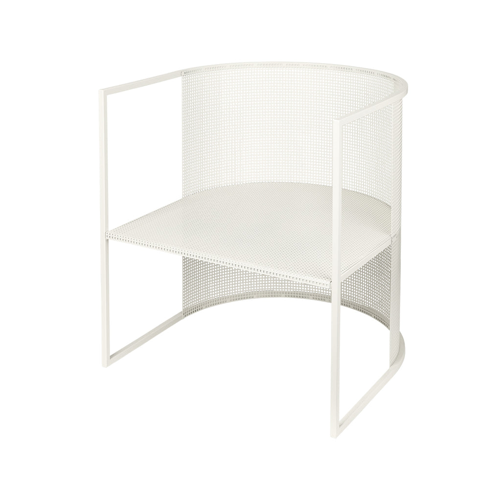Kristina Dam Studio bauhaus lounge chair white hvid