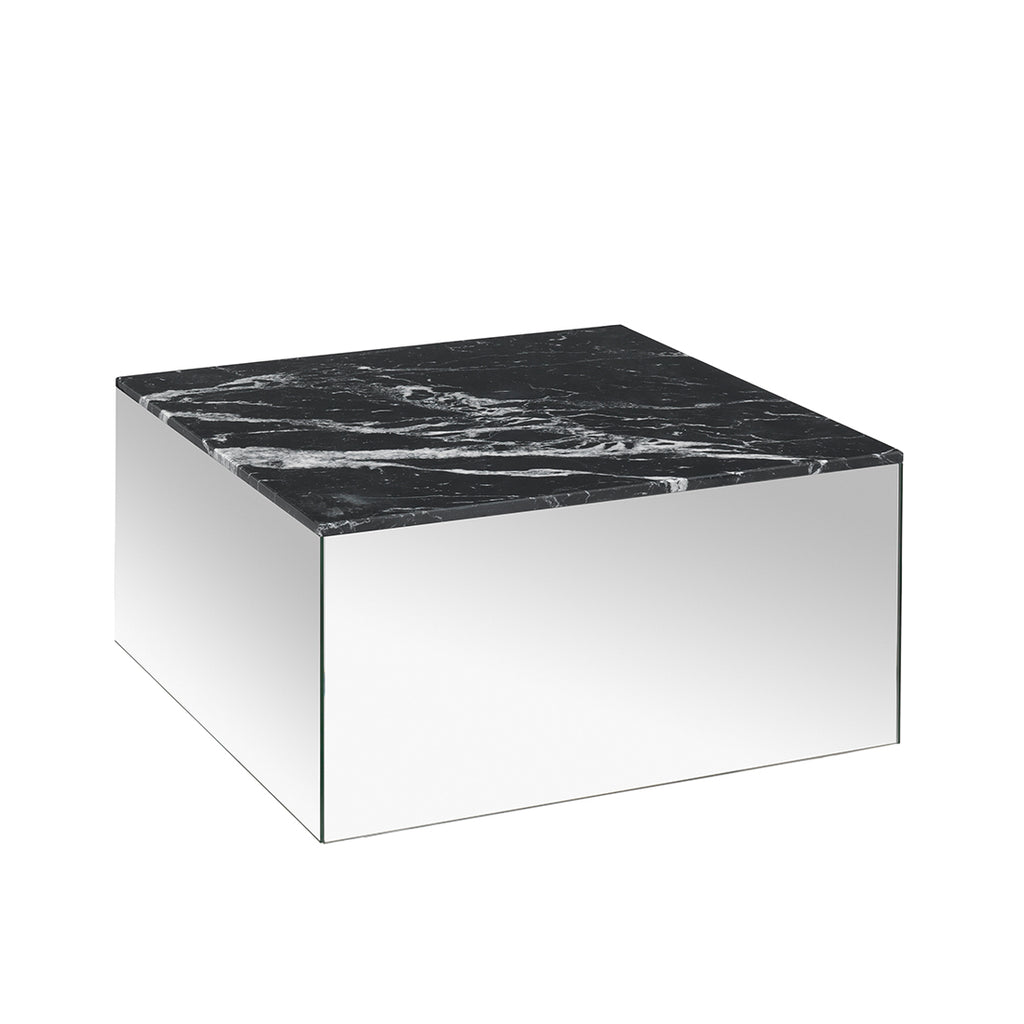 kristina dam studio mirror table black marble