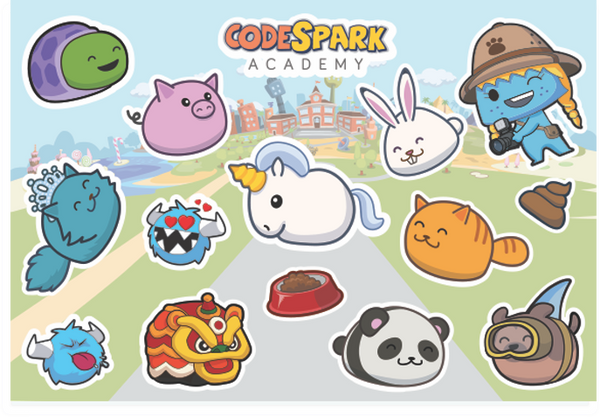 Pet Pals Sticker Sheet