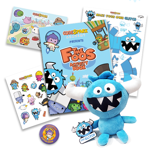 codeSpark Academy Activity Kit with Plush