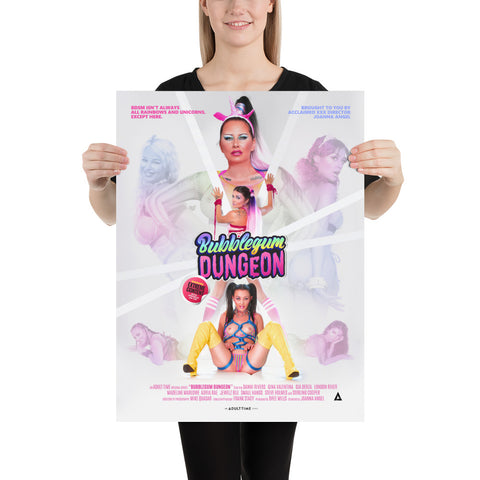 Bubblegum Dungeon | Series Poster