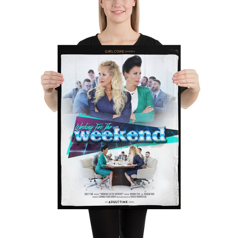 "Girlcore Season 2 | ""Working For The Weekend"" Poster"