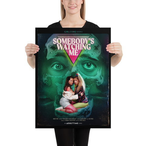 "Girlcore Season 2 | ""Somebody's Watching Me"" Poster"