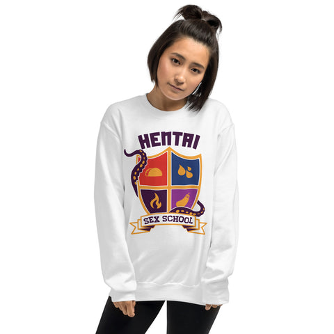 Hentai Sex School - Unisex Sweatshirt