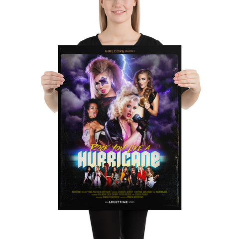 "Girlcore Season 2 | ""Rock You Like A Hurricane"" Poster"