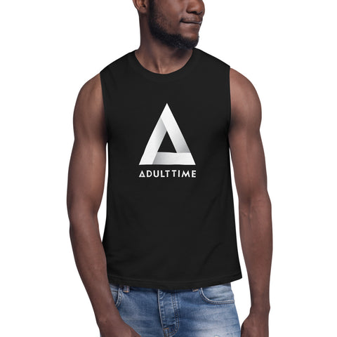 Adult Time Logo - Muscle Shirt