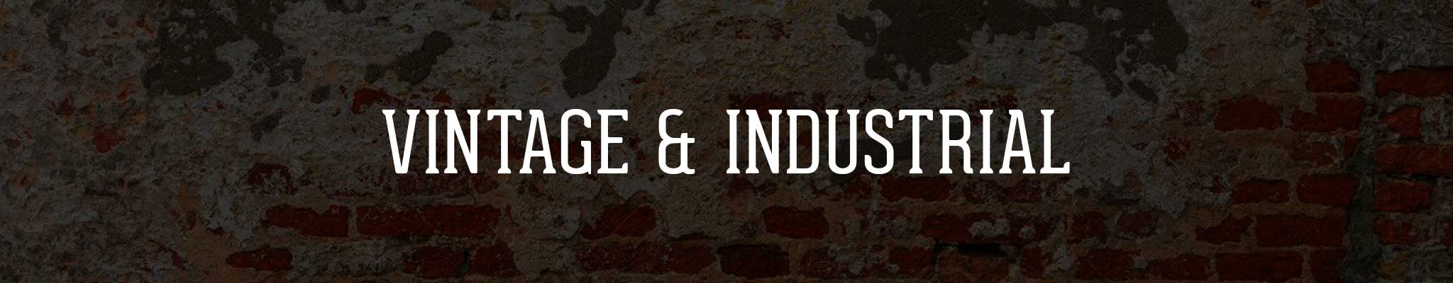 Vintage & Industrial Lighting