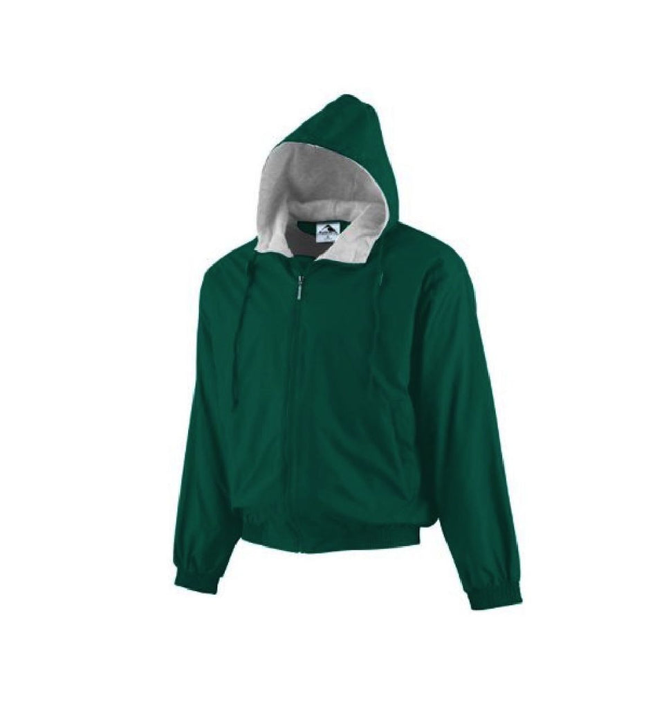 Youth Green Fleece-Lined Jacket
